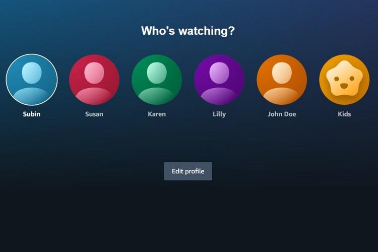 Amazon Prime Video Finally Has Profiles like Netflix
