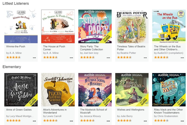 Audible Launches Audible Stories to Offer Free Audiobooks for Children