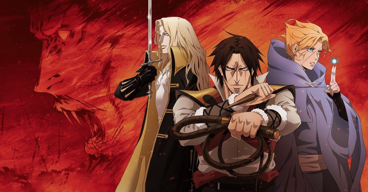 Castlevania's Netflix anime is on for season 4
