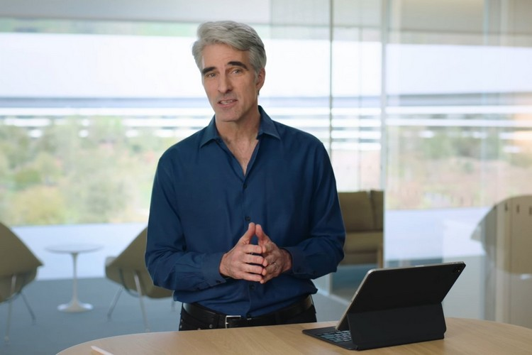 Craig Federighi Demos Magic Keyboard Features of New iPads in a Video
