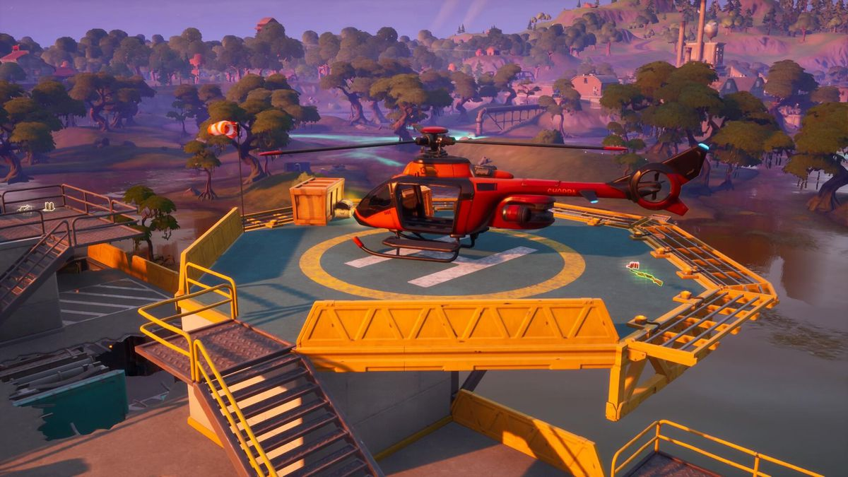 Fortnite Season 2 - All Helicopter (Choppas) spawn locations on the map