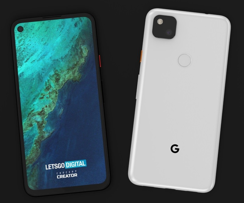 Google Pixel 4a design leak punch-hole display, single camera | UPDx2: real-life images