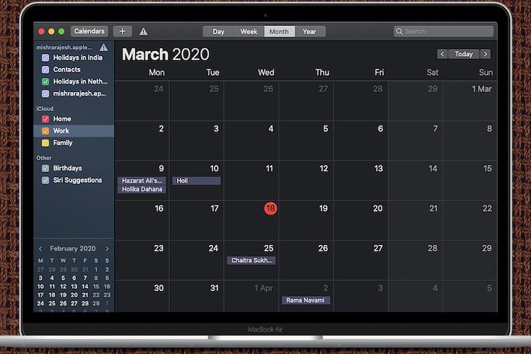 How to Merge iCloud Calendars on Mac (2020)