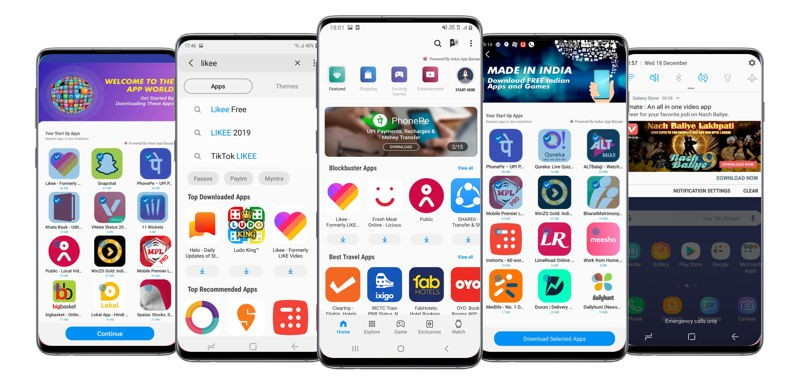 Huawei phones may feature IndusOS' AppBazaar app store in India