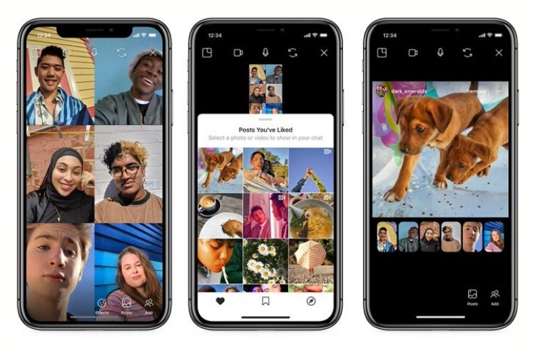 Instagram Now Lets You Browse Posts with Your Friends over Video Call
