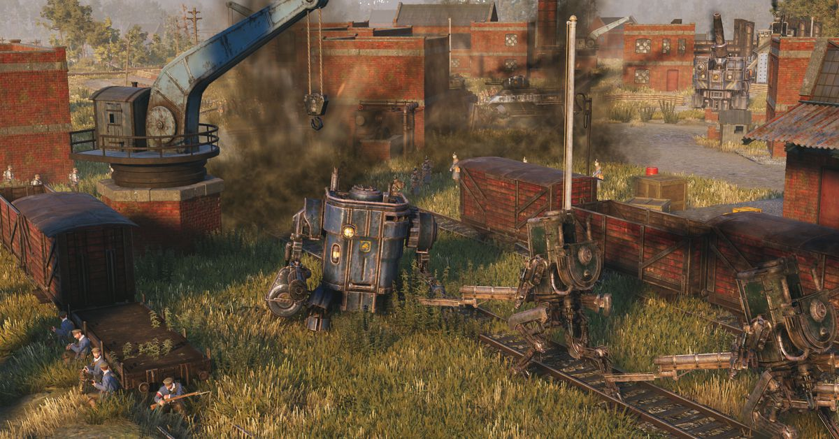Iron Harvest finds drama and beauty in alternative World War I