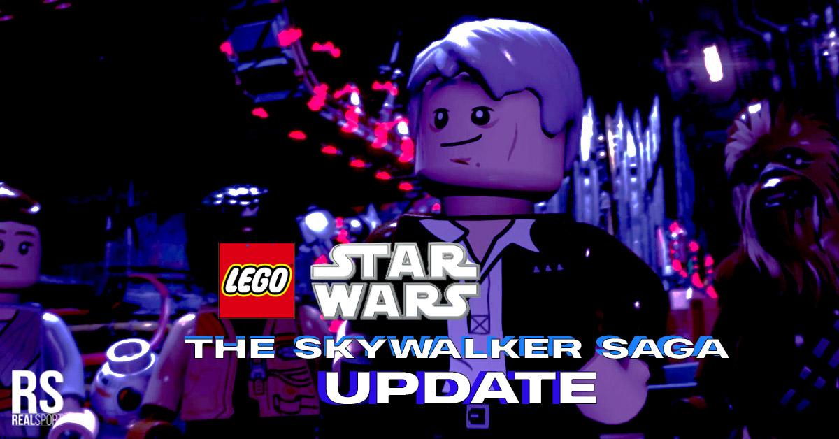 lego star wars the skywalker saga update