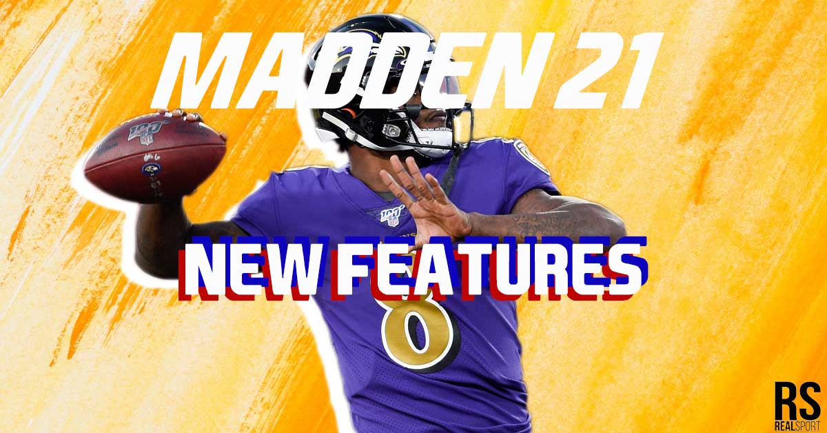 madden 21 new features