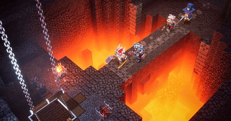 Minecraft Dungeons delayed, arriving on PC and consoles this May for $19.99