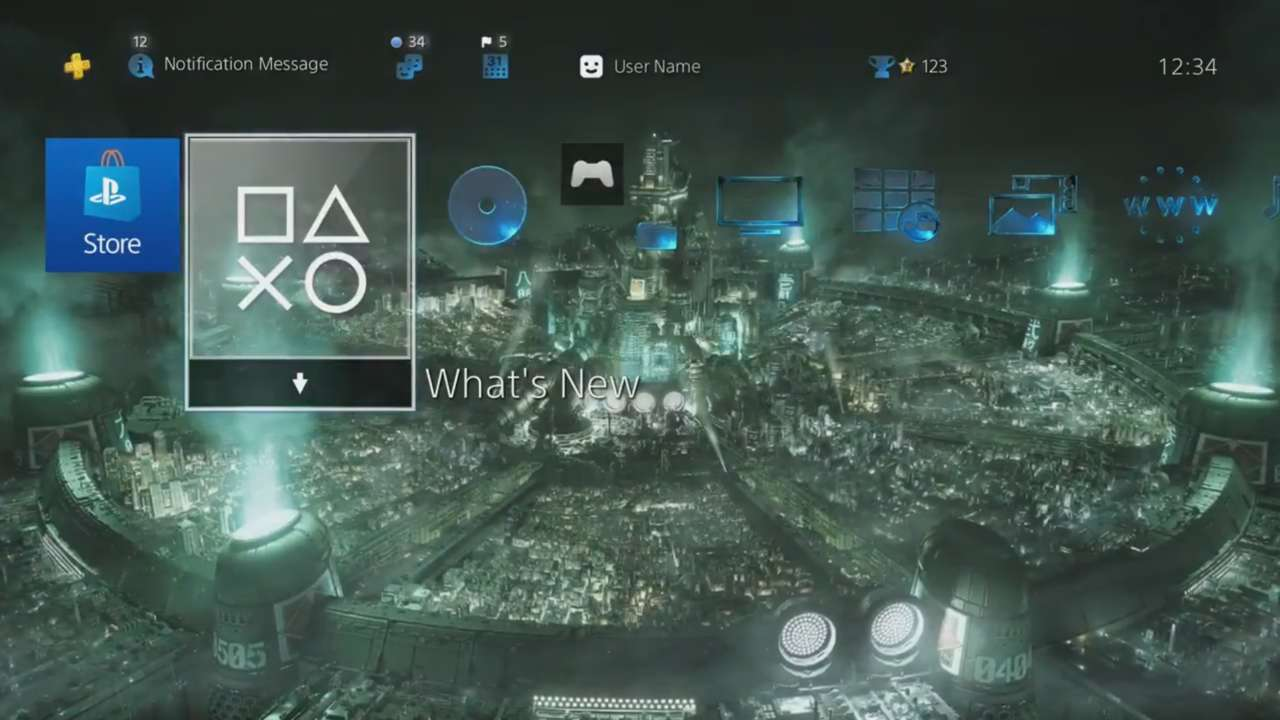 New Final Fantasy VII Remake Playstation Store Pre-Order Bonus Theme Now Available