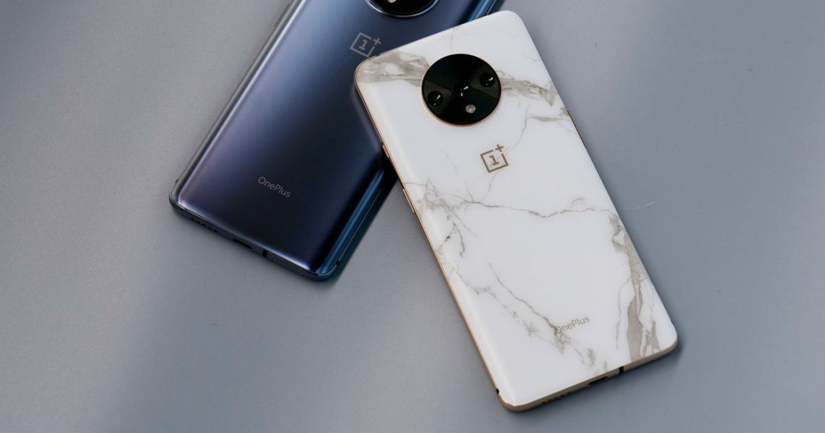OnePlus 7T marble variant existed, but the company never launched it