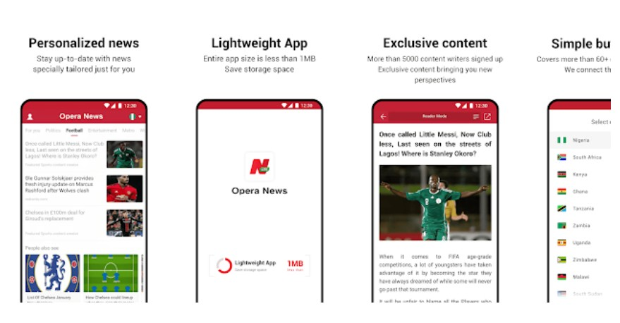 Opera News Lite app launched for those on limited mobile networks