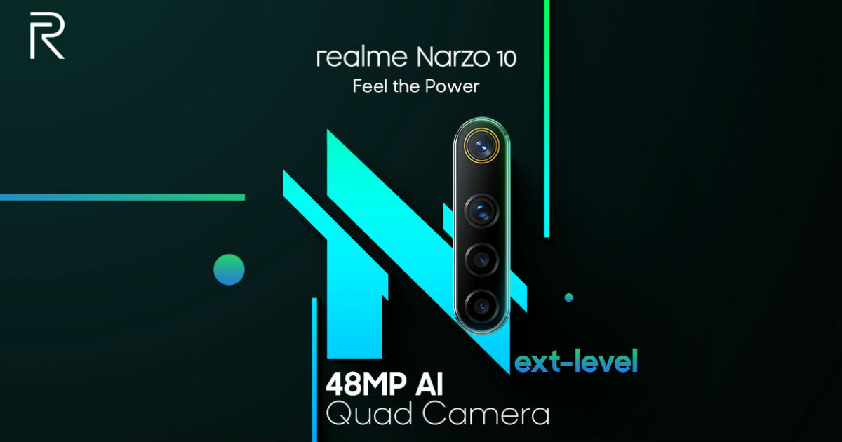 Realme Narzo 10 confirmed to come with 48-megapixel AI quad camera setup