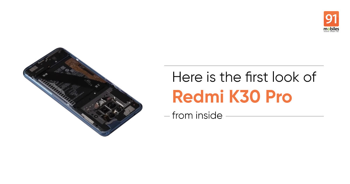 Redmi K30 Pro teardown reveals largest vapour chamber and more ahead of March 24th launch