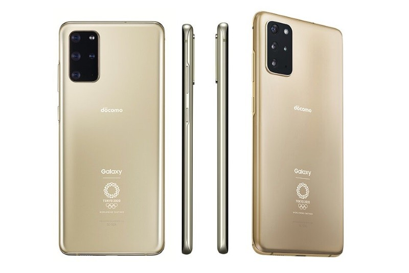 Samsung Galaxy S20+ 5G Olympic Edition unveiled in Japan