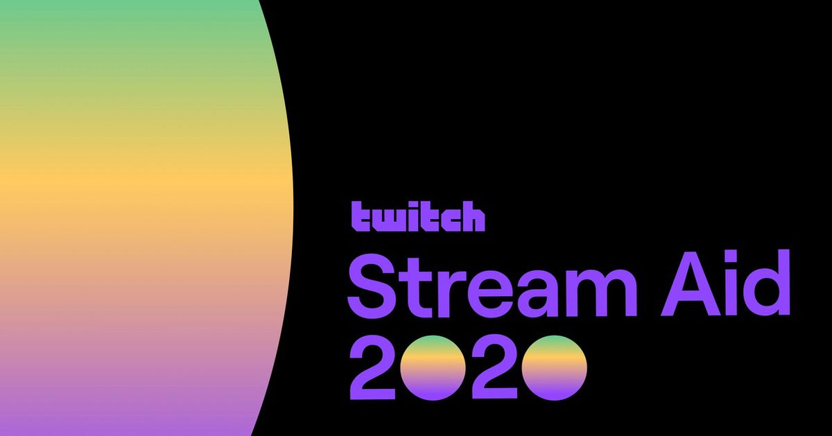 Twitch hosting Stream Aid 2020 charity event on Saturday