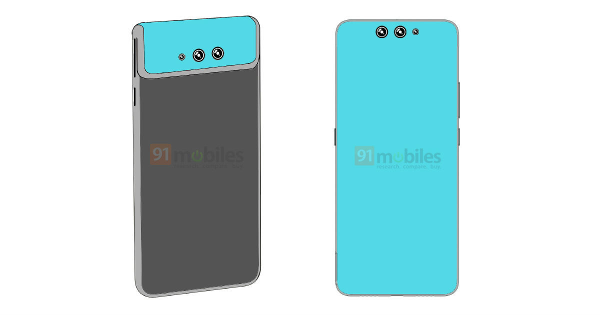 Xiaomi patent shows smartphone with unique flip camera design