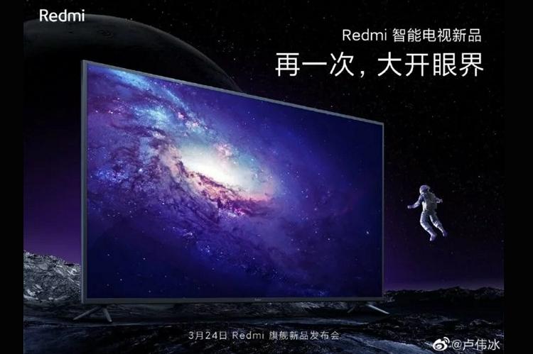 Xiaomi to Launch New Redmi TV Alongside the K30 Pro Tomorrow