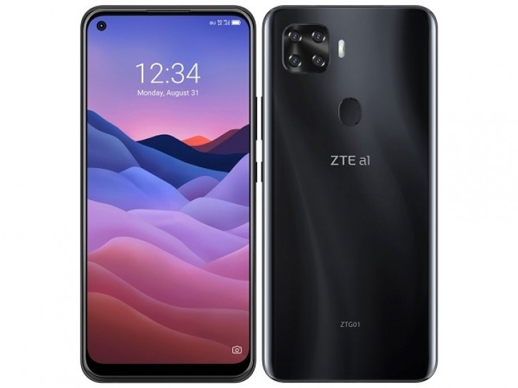 ZTE a1 ZTG01 with Snapdragon 765G 5G, quad cameras listed in Japan