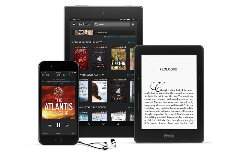 Amazon Kindle Unlimited free trial with 1M+ books available for 90 days