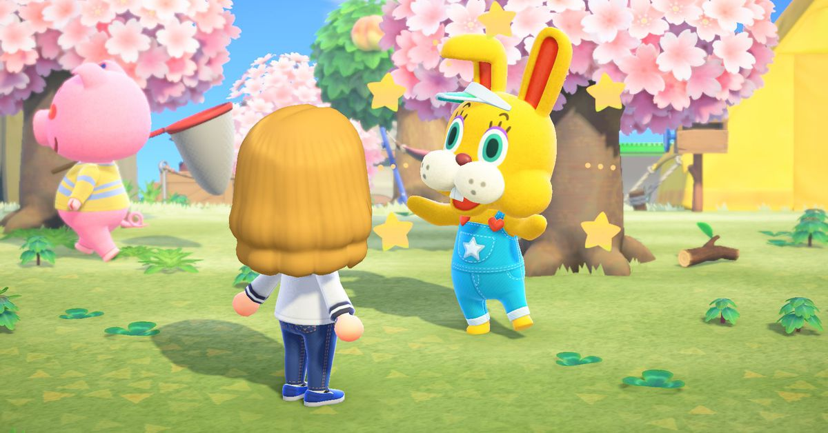 Animal Crossing's Zipper is scaring fans during Bunny Day