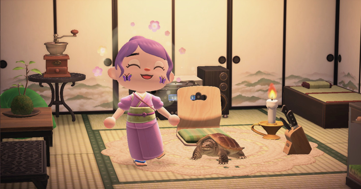 Animal Crossing: New Horizons' turtles are now pets