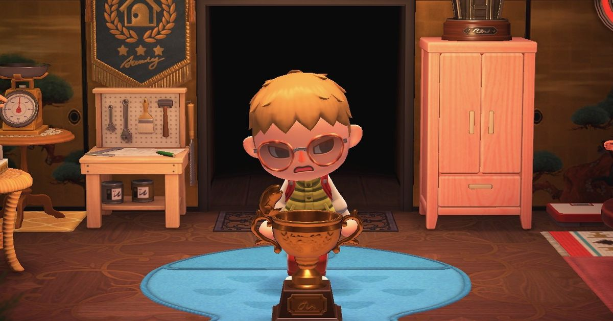 Animal Crossing: New Horizons and hitting the A button way too much