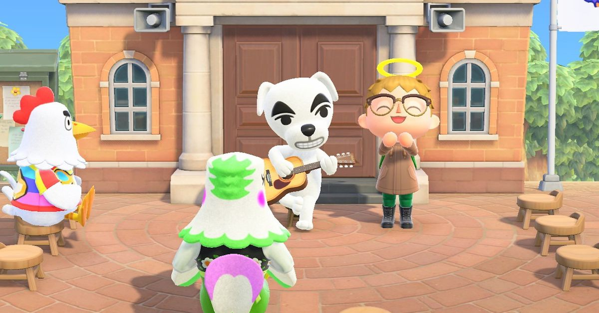 Animal Crossing: New Horizons fans imagine album covers with KK Slider