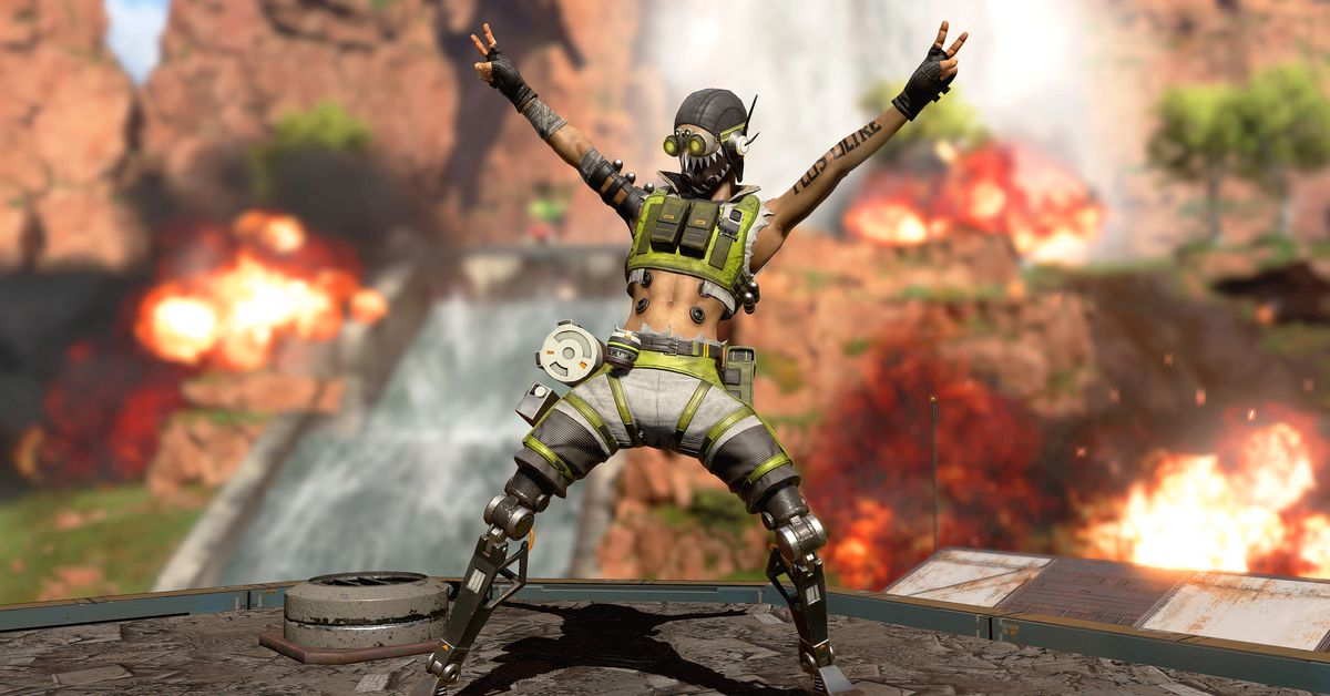 Apex Legends seems to tease a new robotic character based on simulcrum
