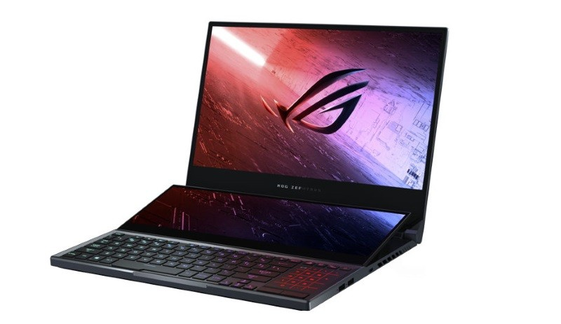 Asus ROG Zephyrus Duo 15 is a gaming laptop with dual displays