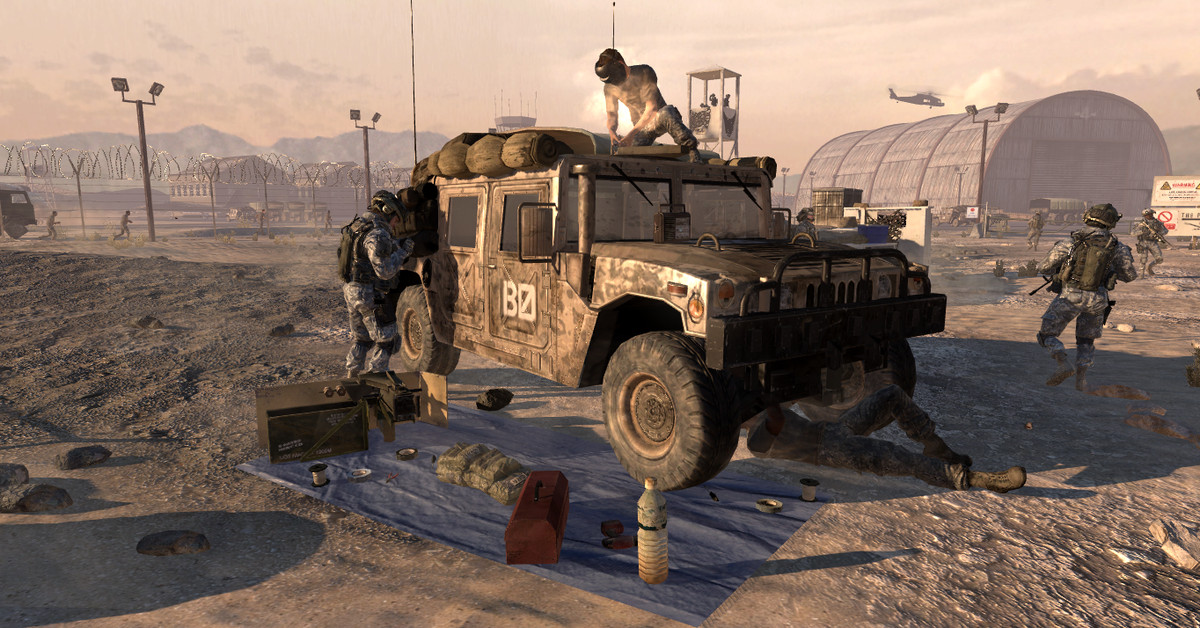 Call of Duty may use Humvees without maker's permission, judge rules
