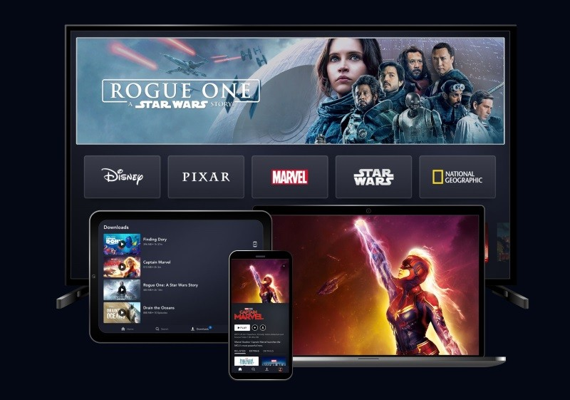 Disney+ app updated with data saver mode on iOS