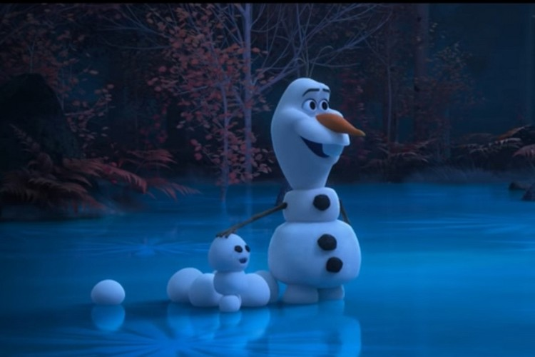 Disney's New Digital Series on Olaf Is Completely Home-Made