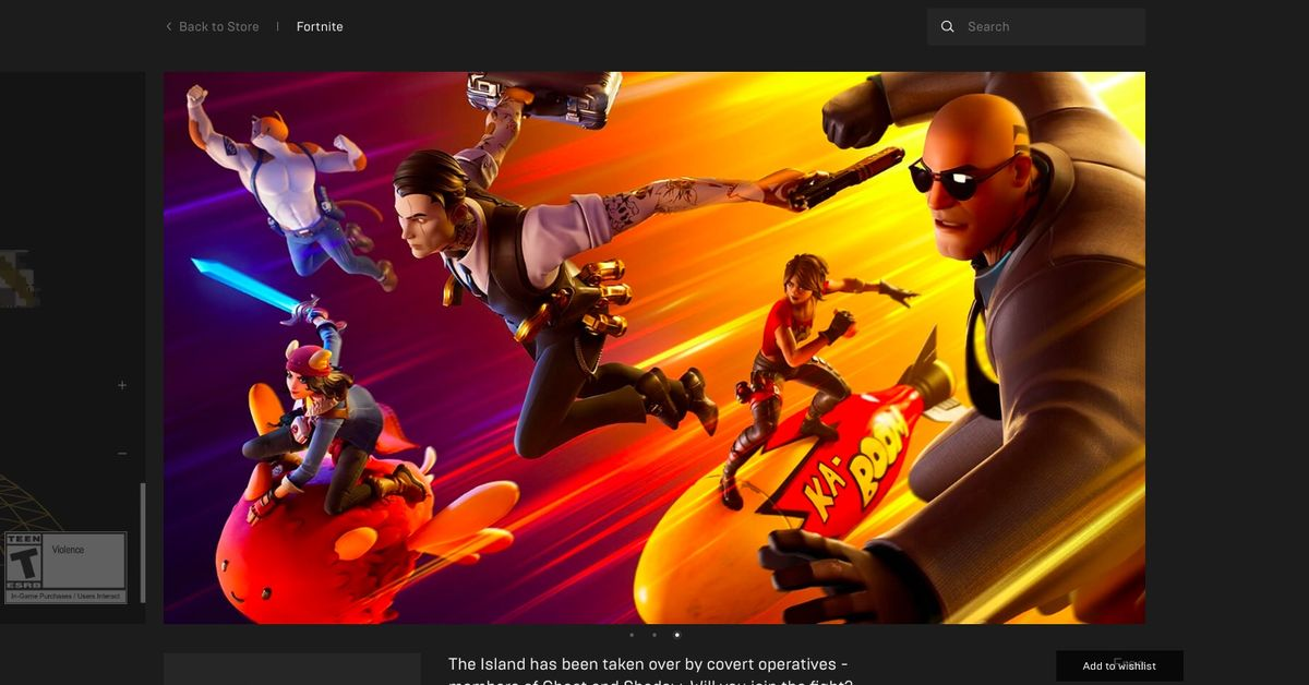 Epic Games Store now requires two-factor authentication for free games