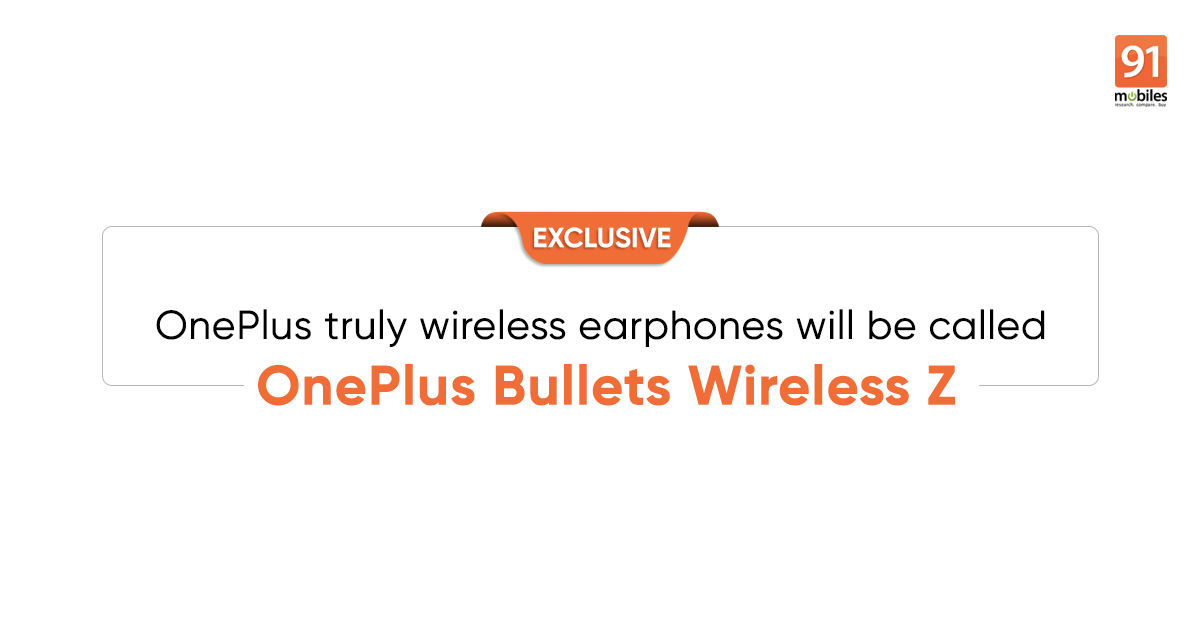 [Exclusive] OnePlus Bullets Wireless Z wireless earphones to launch soon; 30W wireless charger coming with OnePlus 8