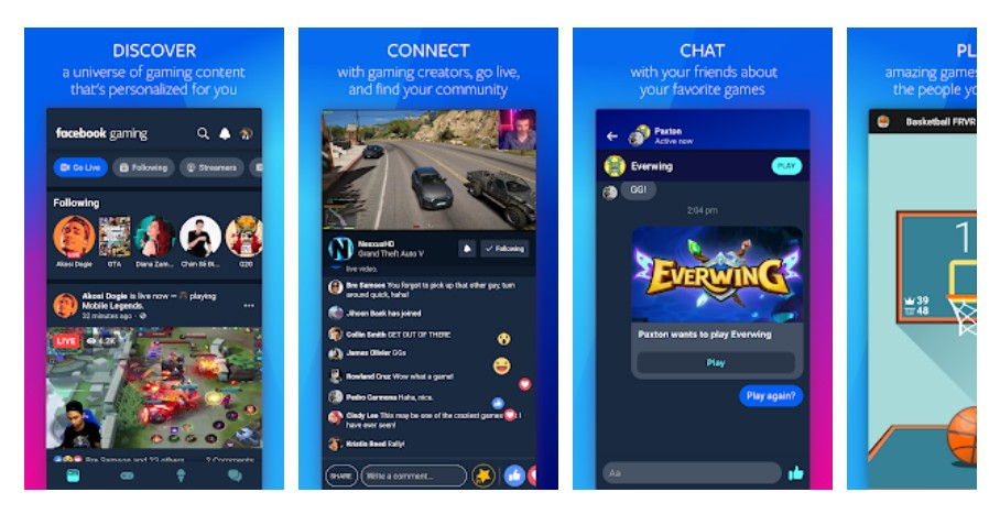 Facebook Gaming now has a dedicated app on Android to watch and share gameplay