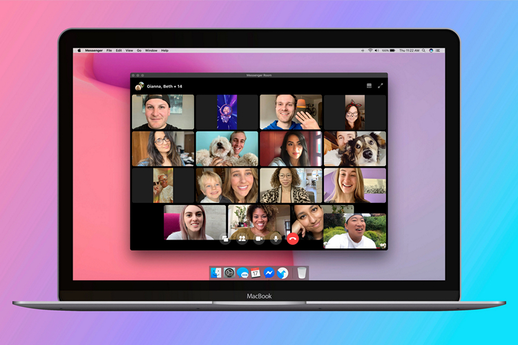 Facebook Launches 'Messenger Rooms' for Video Chats With up to 50 Users