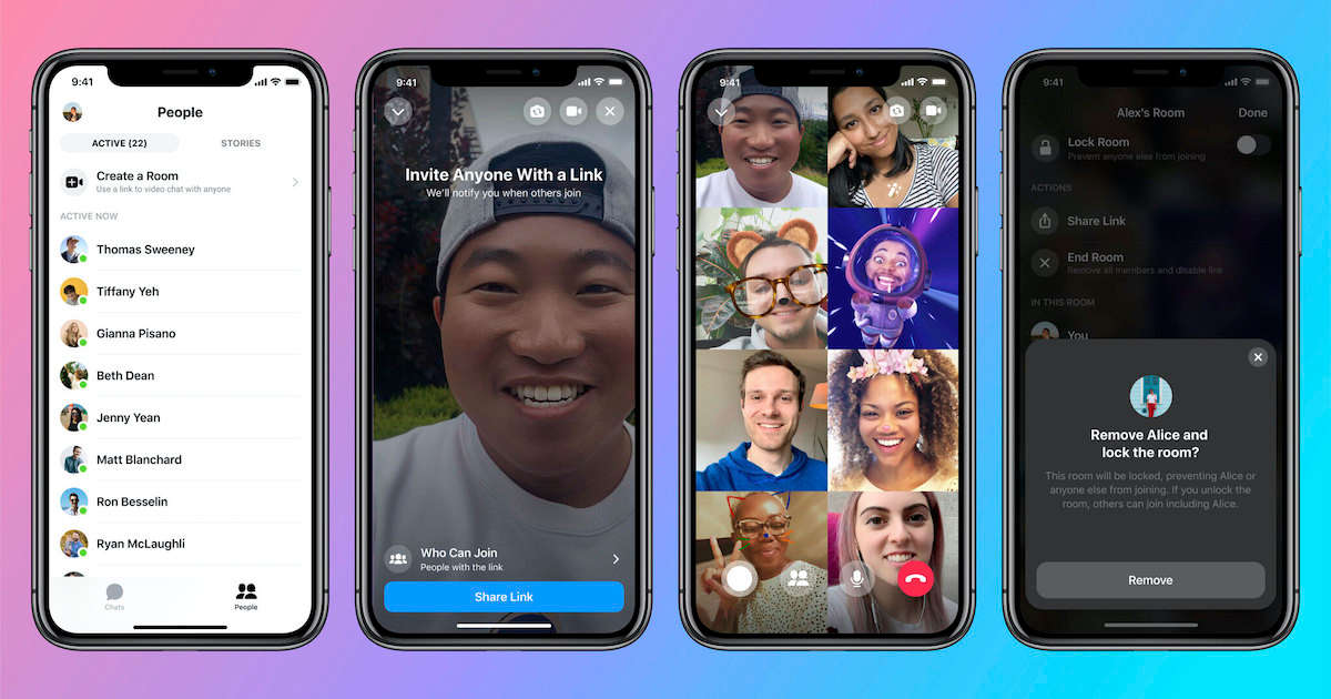 Facebook Messenger Rooms is here to take on Zoom, lets you make video calls with up to 50 people