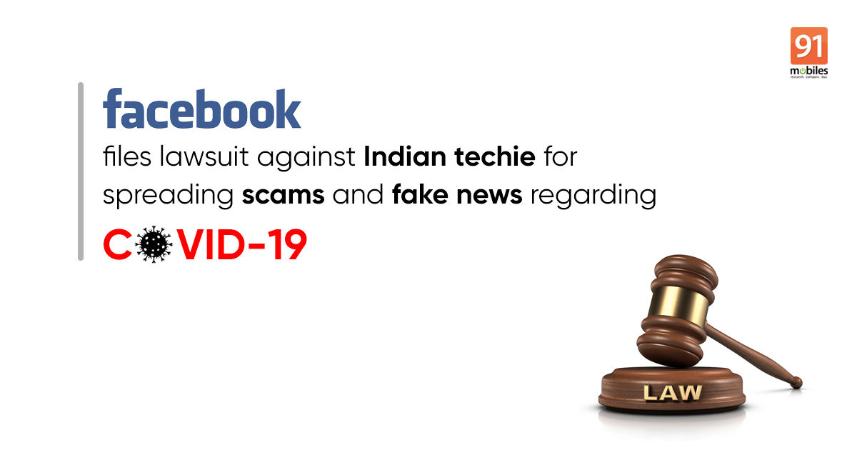 Facebook files court case against Indian techie for spreading fake news about coronavirus