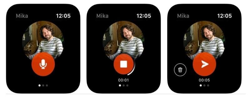 Facebook's new Apple Watch app will help in messaging friends