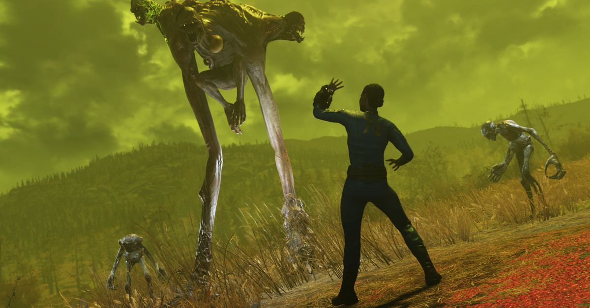 Fallout 76 Wastelanders update brings tougher monsters, better weapon plans