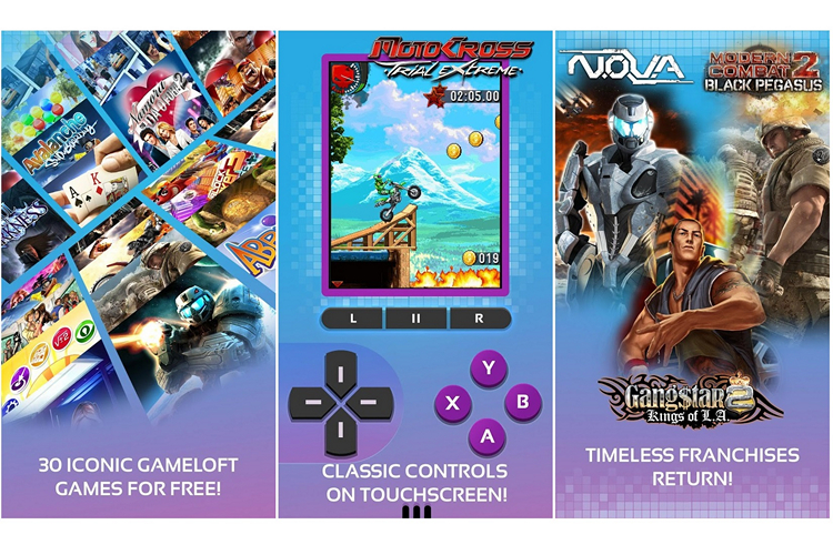 Gameloft Releases 30 Games in One Free Android App to Celebrate 20th Anniversary