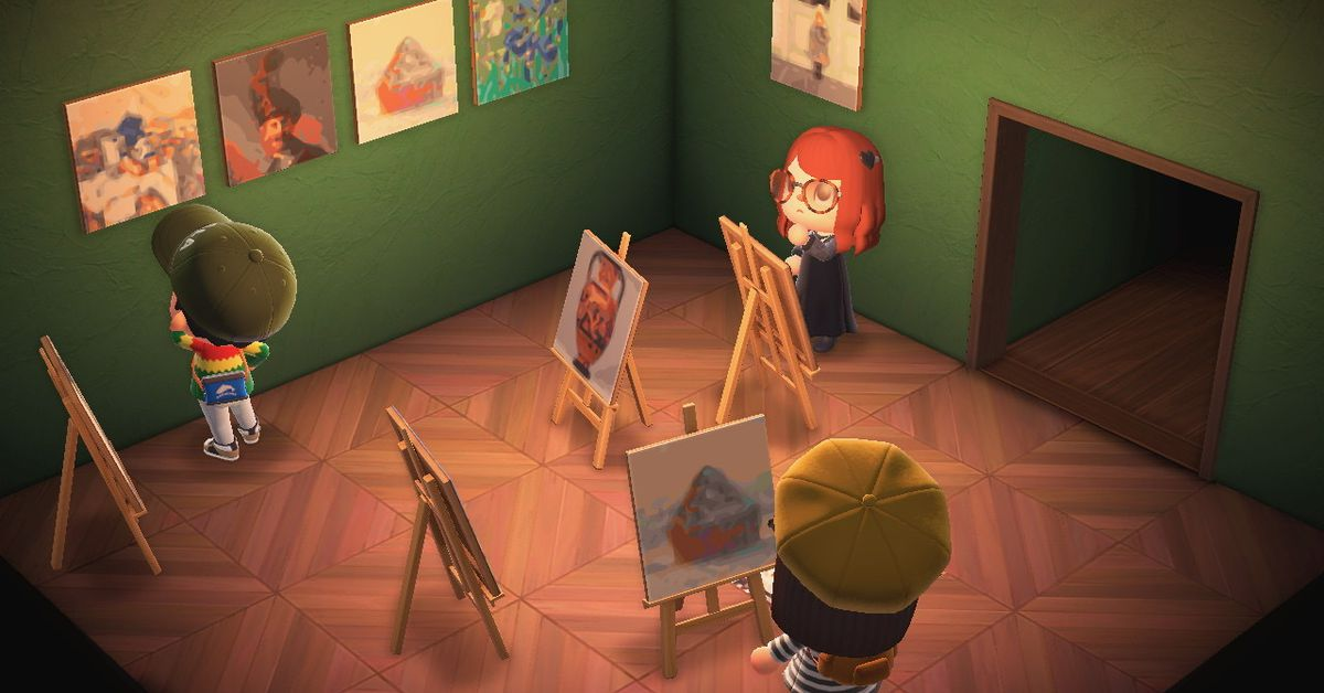 Getty museum opens up art collection to Animal Crossing fans