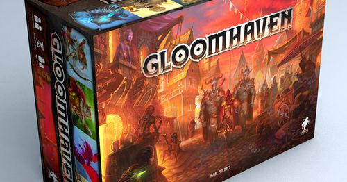 Gloomhaven board game sequel Frosthaven fully funded in 10 mins, hit $3M in 3 hours