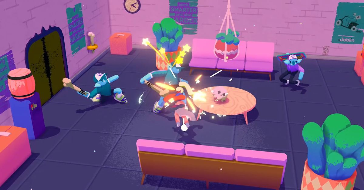 Going Under trailer: PS4, Switch, and Xbox One versions as well as PC
