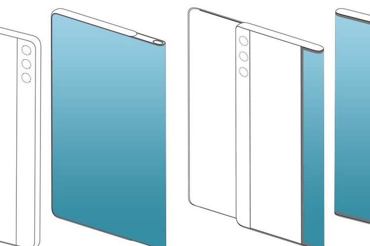 Huawei's New Patents Show Phones with Foldable Slide-Out Displays