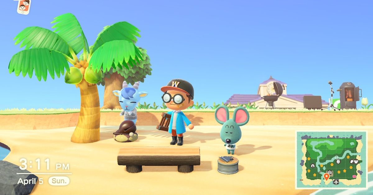 In Animal Crossing: New Horizons, it matters when your villager moves in