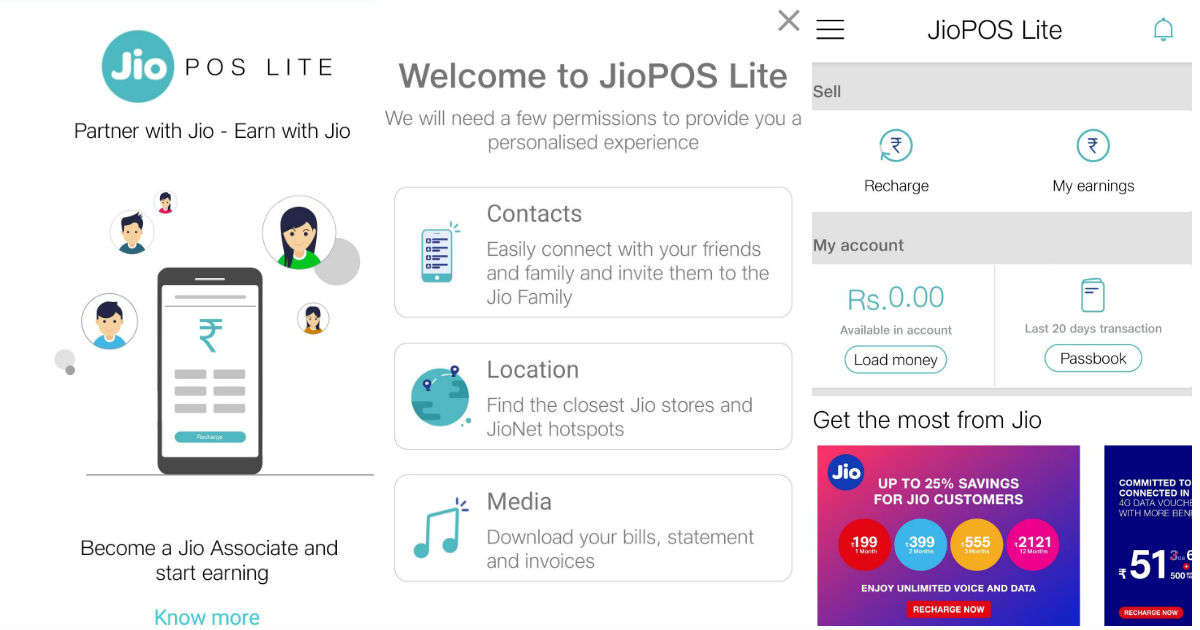 JioPOS Lite app will let you earn money on recharging other numbers, here's how
