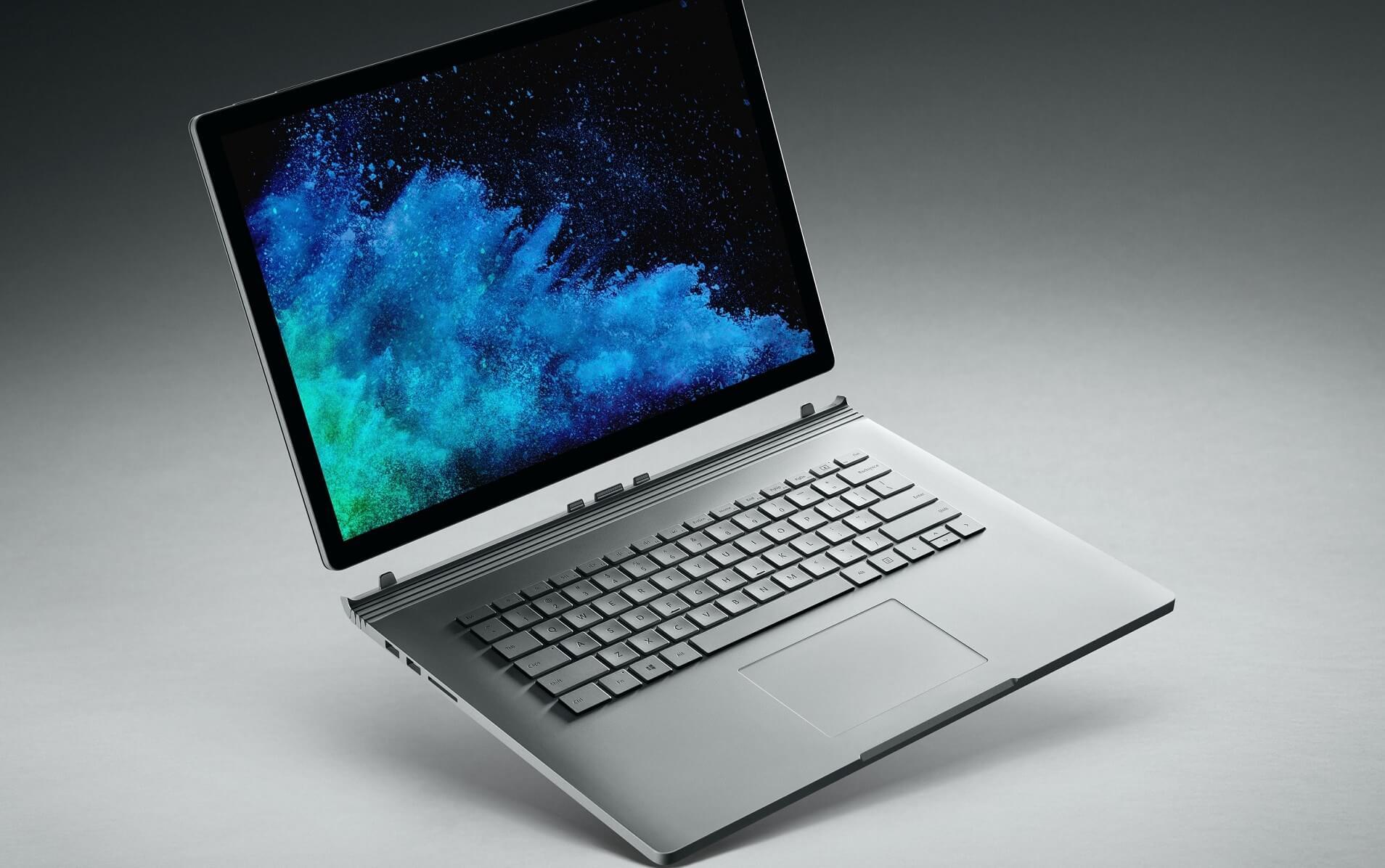 Surface Book 2 render