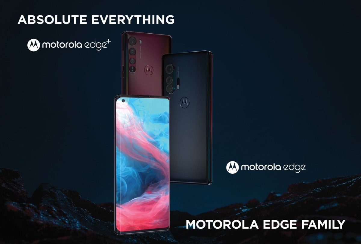 Motorola Edge and Edge+ with curved 90Hz OLED display, triple cameras launched